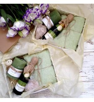 Подарочный СПА набор с шампанским