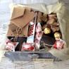 Упаковка подарка в коробку