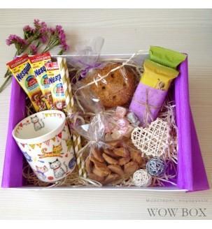 """Подарок ребенку """"Полезный"""" полезные сладости и чашка"""