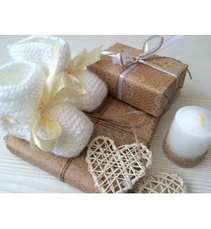 Детские пинетки ручной вязки