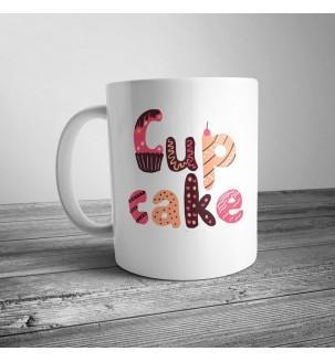 "Чашка з принтом ""Cup Cake"""