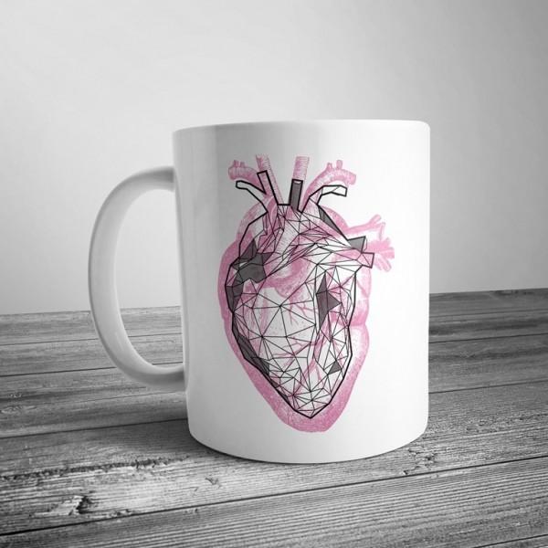 Чашка Серце