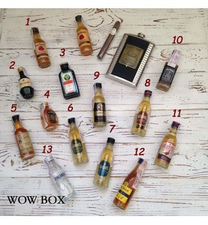 Міні пляшечки алкоголю 6
