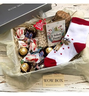 Набор новогодних сладостей для ребенка