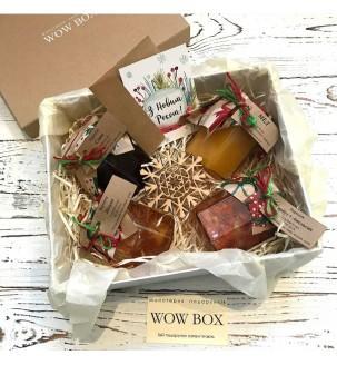 Варення і мед в подарунковій коробці