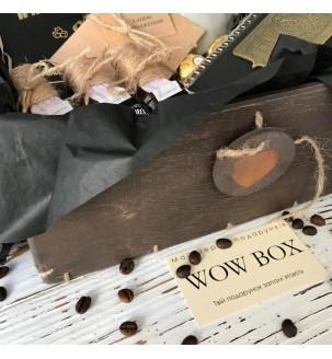 Деревянная коробка подарок мужчине оригинальный в наборе N 1
