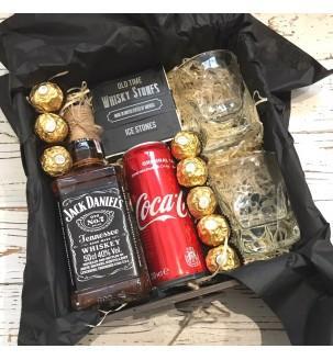 Подарочный набор Jack Daniel's с бокалами №170