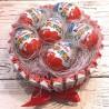 Подарунковий тортик з кіндерів №285
